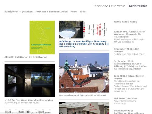 Website christianefeuerstein.at